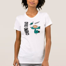Ovarian Cancer CHEMO GRAD 1 T-Shirt