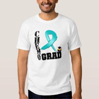 Ovarian Cancer Chemo Grad T Shirts