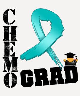Ovarian Cancer Chemo Grad Tshirt
