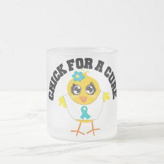 Ovarian Cancer Chick For A Cure Mug