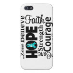Ovarian Cancer Collage of Hope Case For iPhone 5