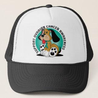 Ovarian Cancer Dog Trucker Hat