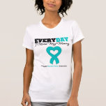 Ovarian Cancer Every Day I Miss My Mommy Shirts