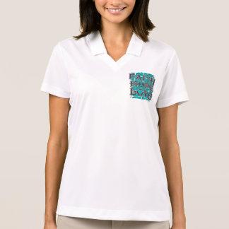 Ovarian Cancer Faith Hope Love T-shirts