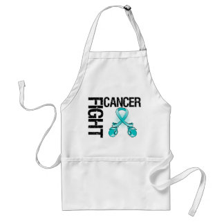 Ovarian Cancer Fight Boxing Gloves Aprons