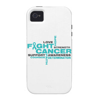 Ovarian Cancer Fight Collage Case-Mate iPhone 4 Cover