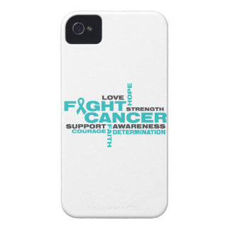 Ovarian Cancer Fight Collage iPhone 4 Case-Mate Cases