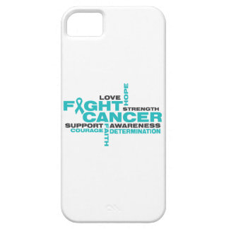 Ovarian Cancer Fight Collage iPhone 5 Cases