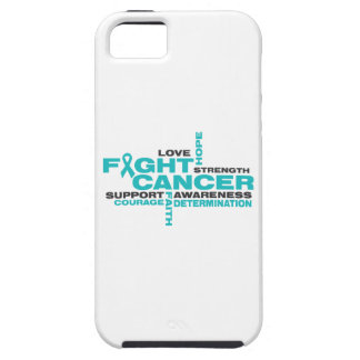 Ovarian Cancer Fight Collage iPhone 5 Case