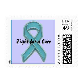 Ovarian Cancer Fight for a Cure Postage