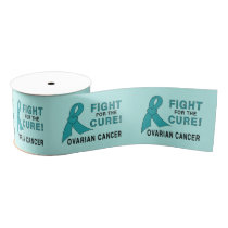 """Ovarian Cancer Fight for the Cure 3"""" Grosgrain Ribbon"""