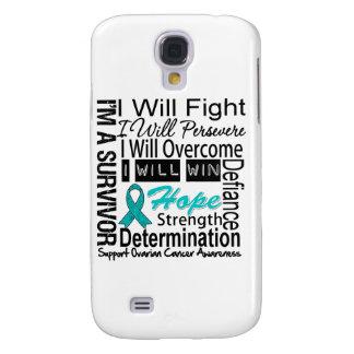 Ovarian Cancer Fight Persevere Overcome Win Samsung Galaxy S4 Cover