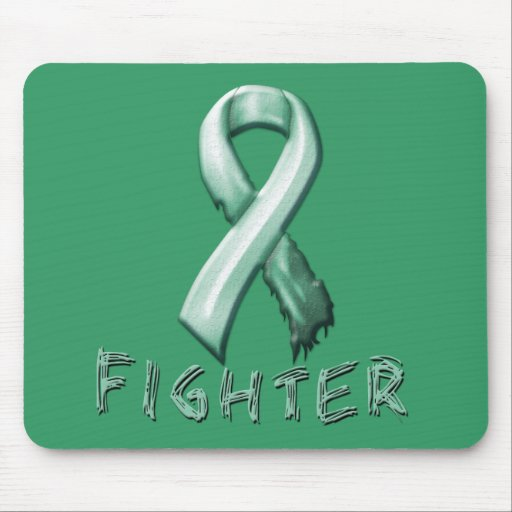 Ovarian Cancer Fighter Mouse Pad