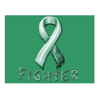 Ovarian Cancer Fighter Postcard