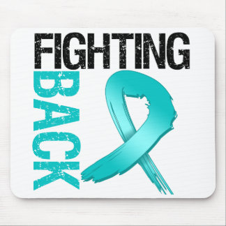 Ovarian Cancer Fighting Back Mouse Pad