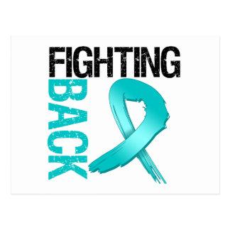 Ovarian Cancer Fighting Back Postcard