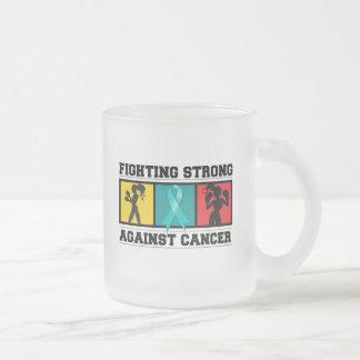 Ovarian Cancer Fighting Strong Mug