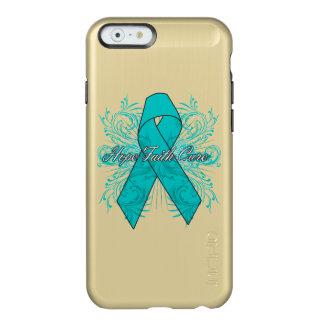 Ovarian Cancer Flourish Hope Faith Cure Incipio Feather® Shine iPhone 6 Case