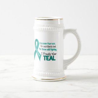 Ovarian Cancer For Every…..I Proudly Wear Teal 1 Coffee Mugs