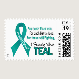 Ovarian Cancer For Every…..I Proudly Wear Teal 1 Postage