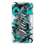 Ovarian Cancer Garden Ribbon iPhone 4/4S Covers