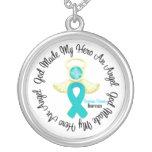 Ovarian Cancer God Made My Hero An Angel Pendants