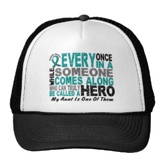 Ovarian Cancer Hero Comes Along AUNT Trucker Hat