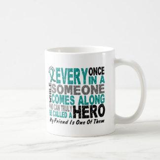 Ovarian Cancer Hero Comes Along FRIEND Coffee Mug