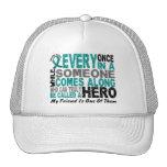Ovarian Cancer Hero Comes Along FRIEND Trucker Hat