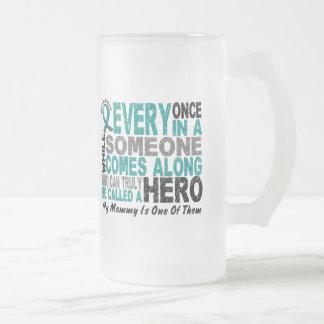 Ovarian Cancer Hero Comes Along MOMMY Mug