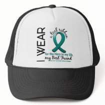 Ovarian Cancer Hero In My Life Best Friend 4 Trucker Hat