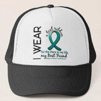 Ovarian Cancer Hero In My Life Best Friend 4 Trucker Hat