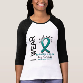 Ovarian Cancer Hero In My Life Cousin 4 T-Shirt