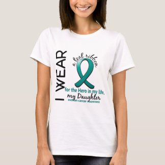 Ovarian Cancer Hero In My Life Daughter 4 T-Shirt