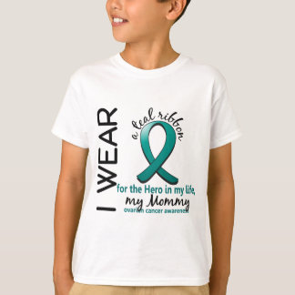 Ovarian Cancer Hero In My Life Mommy 4 T-Shirt