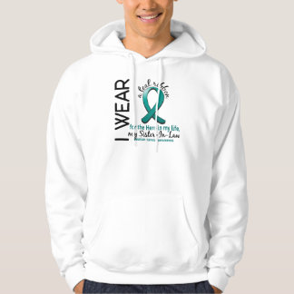 Ovarian Cancer Hero In My Life Sister-In-Law 4 Hoodie