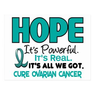 Ovarian Cancer HOPE 1 Post Card