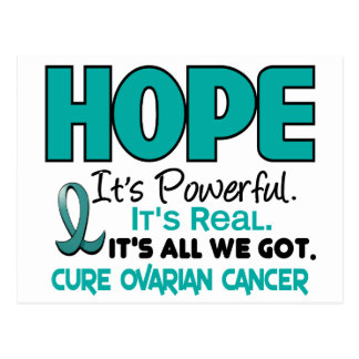 Ovarian Cancer HOPE 1 Postcard