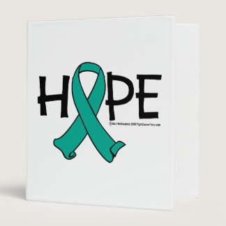 Ovarian Cancer Hope 2 3 Ring Binder
