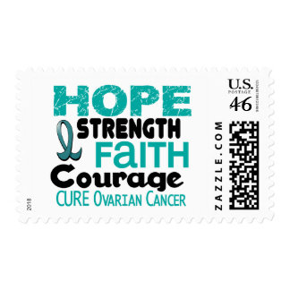 Ovarian Cancer HOPE 3 Postage Stamp