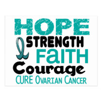 Ovarian Cancer HOPE 3 Postcard