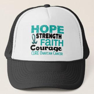 Ovarian Cancer HOPE 3 Trucker Hat
