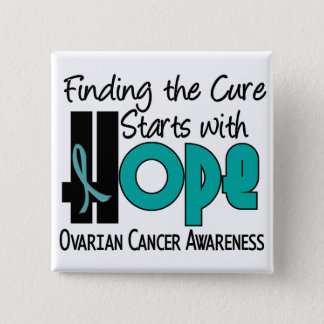 Ovarian Cancer HOPE 4 Button