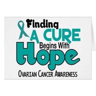 Ovarian Cancer HOPE 5 Card