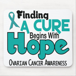 Ovarian Cancer HOPE 5 Mouse Pads