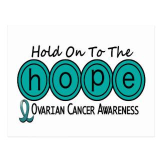 Ovarian Cancer HOPE 6 Post Card