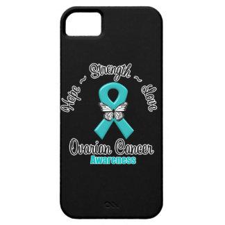 Ovarian Cancer Hope Strength Love iPhone SE/5/5s Case