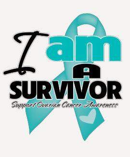 Ovarian Cancer - I am a Survivor Tee Shirt