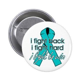 Ovarian Cancer I Fight Back Pin