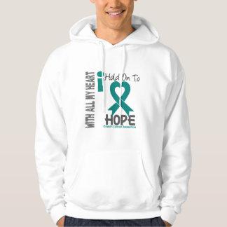 Ovarian Cancer I Hold On To Hope Hoodie